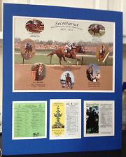 Secretariat 40th Anniversary Triple Crown Commemorative New!