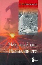 USED (LN) Mas Alla del Pensamiento (Spanish Edition) by Jiddu Krishnamurti