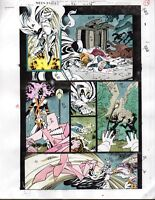 1993 Moon Knight 52 page 19 original Marvel Comics color guide comic art: 1990's