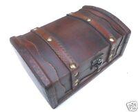 Schatzkiste Schatztruhe Truhe Holzbox k 18 x12,5 x 9cm Holztruhe Geschenkbox