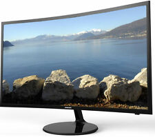 """SAMSUNG V24F39S SMART WIFI 24"""" LED CURVED TV MONITOR FREEVIEW HD 1080P HDMI"""