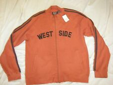 Graphite WEST SIDE Zip Front Athletic Style Jacket - L - New with Tag