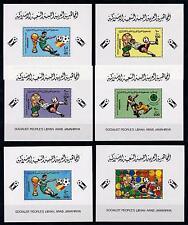 [59543] Libya 1982 World Cup Soccer Football Spain 6 Single SS MNH