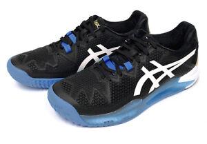 ASICS GEL-Resolution 8 Men's Tennis Shoes Black Racquet All Court 112012003-001