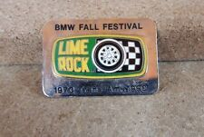 Vintage BMW Fall Festival Lime Rock 1970 Trans Am 1990 badge