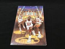 1988-89 CHICAGO BULLS MEDIA GUIDE Yearbook MICHAEL JORDAN Program 1989 NBA