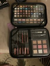 New Ulta Beauty Glamour On The Go 95 Pc Makeup Kit Pink Free Shp Blush Brushes