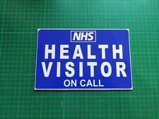 Health Visitor on Call Dashcard Medic Paediatrics Paramedic Health Care