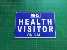 Health Visitor on Call Dashcard NHS Medic Paediatrics Paramedic Health Care