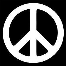 """Peace Sign""  vinyl decal sticker JDM hella flush funny"