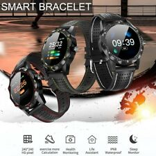 Waterproof Fitness Smart Watch Heart Rate Blood Pressure Monitor Fitbit iPhone