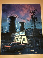 Simpsons Night Falls On The SNPP Tim Doyle Art Print Free Ship US
