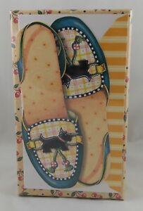 20 NIB MARY ENGELBREIT Shoe Slipper NOTE CARDS Scottie Henry Scottish Terrier