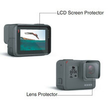 2in1 For GoPro Hero5 Black Lens LCD Screen Protector Dustproof Protective Film