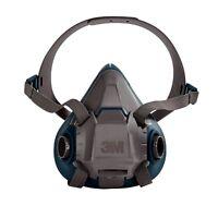 3M 49487 Rugged Comfort Half Facepiece Reusable Respirator, Small