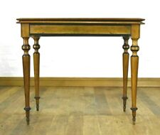 Antique turn over top Victorian console tea table