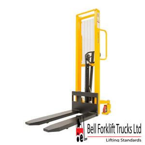 Hydraulic 1000kg Manual Forklift Pallet Lifter Mover Stacker
