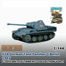 1/144 SCALE MODEL F-TOYS BATTLE TANK KIT 1 #2A GERMAN PANTHER G BERLIN 1945
