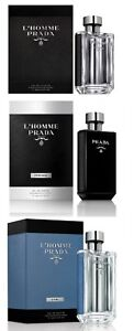 L'Homme by PRADA Milano for Men All Versions up to 150ml/5oz NIB Authentic