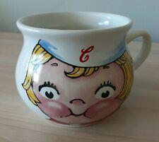 Vintage 1998 Campbells Soup Co Mug Bowl Blonde Little Girl by Houston Harvest