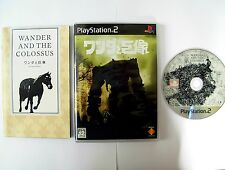 RARE Shadow Of The Colossus NTSC (JAP) -Wander & the Colossus- Playstation 2 PS2