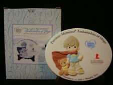 Precious Moments-Collector Medallion-St Jude Childrens Hospital-Hand Signed/Hiko