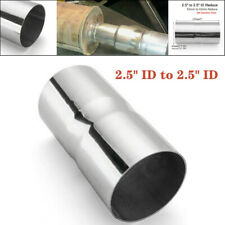 "1PCS 2.5"" ID to 2.5"" ID Stainless Steel Exhaust Pipe Connector Adapter Reducer"