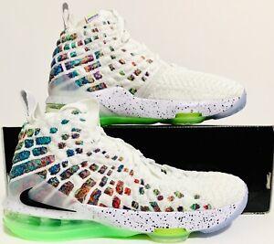 Nike LeBron 17 XVII(GS) Basketball Shoes Sz(5.5Y/7W) Multi-Color BQ5594-100 NIOB