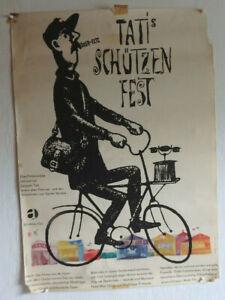 Original Filmplakat Tati´s Schützenfest Jacques Tati 1960 (75247)