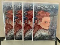 AFFORDABLE SET OF 4: HORIZON ZERO DAWN #1 SDCC PEACH MOMOKO Variants 🔥🍑 🔥