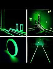 10M X 10mm Klebeband leuchtend- Phosphorband Markierungsband Leuchtband Tape NEU