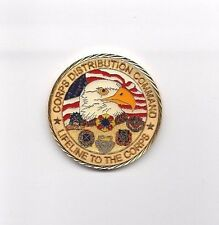 CHALLENGE COIN  CORPS DISTRIBUTION COMMAND  RE-UP