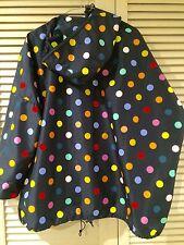 "Cute GORMAN ""Polka dot"" raincoat coat jacket * One size fits all"
