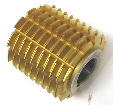 Gleason Gear Hob Cutter 20 deg PA GPHCT CLD 9 PA LA 3 deg 58 min RH 2 Tin Coated