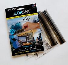 Aloksak 6.75x6 New Double Zipper Waterproof Airtight Pouch Bags LOKSAK Camera