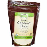 Now Foods  Organic Coconut Flour  16 oz  454 g