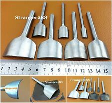 Shallow-circle Leather Craft Punch Cutter Tool Set Kit 10/20/25/30/35/40/50mm