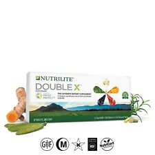 Nutrilite Double X Vitamin 31 day Refill 186 Tablets Amway EXP 2022 Supply Pack
