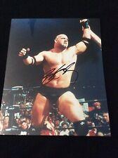 BILL GOLDBERG SIGNED 8x10 GEORGIA FOOTBALL WWE WWF WCW AUTO COA PROOF