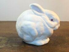 Cybis Snowball Bunny Rabbit White Bisque Porcelain