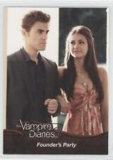 2011 Cryptozoic The Vampire Diaries Season 1 #19 Founder's Party Card o3e