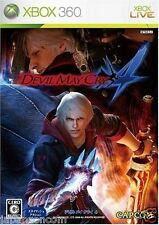 Used Xbox 360 Devil May Cry 4 MICROSOFT JAPAN JP JAPANESE JAPONAIS IMPORT