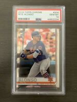 2019 Topps Chrome Pete Alonso New York Mets RC Rookie PSA 10 GEM MINT #204