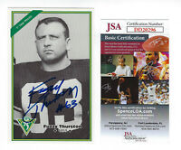 PACKERS Fuzzy Thurston signed GB Archives postcard JSA COA AUTO Autographed