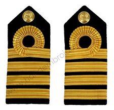 Royal Navy Capt Captain Rank Insignia Shoulder Strap Board Epaulette