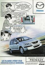 Publicité advertising 2002 Mazda Monospace Premacy