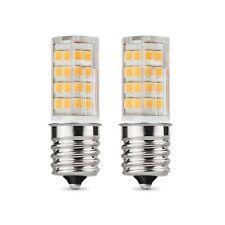 E17 LED Bulb Microwave Oven Light 4 Watt Warm White 3000K dimmable 52x2835SMD...