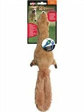 Squirrel Squeaker Puppy Small Dog Toy Fun Chew Destructive Toys Stuffing-Free