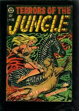 Terrors of the Jungle 10 VG/FN 5.0