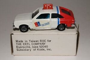 ERTL DIECAST CHEVY CHEVETTE DOMINO'S PIZZA DELIVERY CAR, 1:64, EXCELLENT, BOXED
